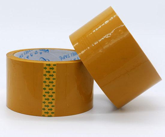 米黄色封箱胶带55